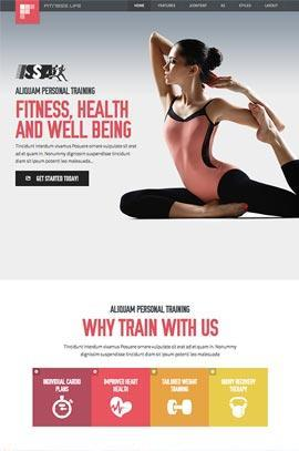 JoomlaXTC – Fitness Life template for Joomla 2.5 & 3.0