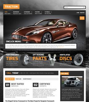 Shape5 – Traction Template for Joomla 2.5 & 3.0