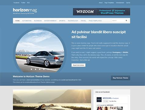 WPZoom – Horizon Premium Theme for WordPress