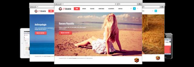 ZT Dian – Responsive joomla 2.5 template