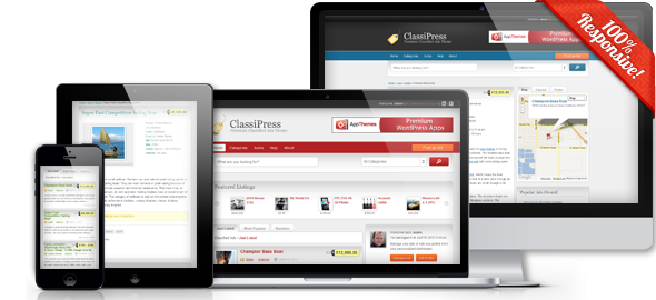 AppThemes – Classipress v3.3 Classified Ads Software Theme For WordPress