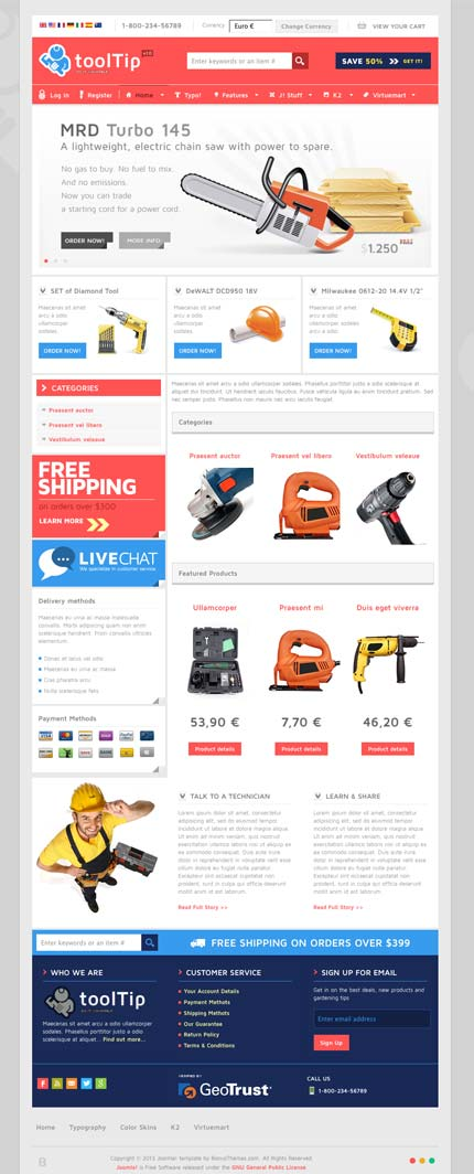 BT Tooltip Template for Joomla 2.5 – 3.0