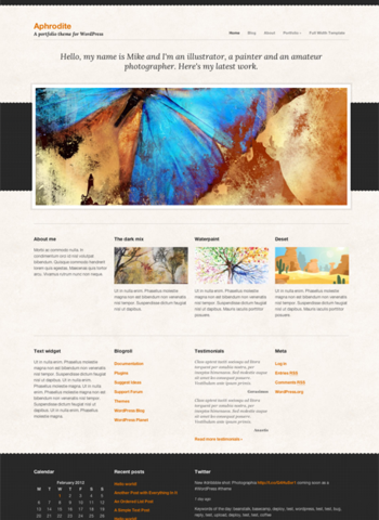 CssIgniter – Aphrodite Theme v1.3 For WordPress