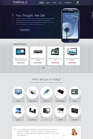 IceTheme – IT TheShop 2 JoomShopping Responsive Joomla 2.5 Theme