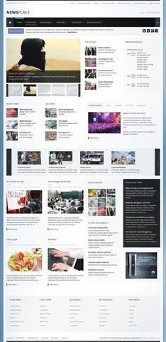Shape5 – Newsplace Template For Joomla 2.5 & 3.1