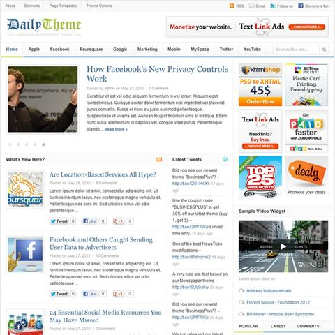 ThemeJunkie – Daily WordPress Magazine Theme v2.0