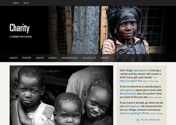 UpThemes – Charity Theme V1.1.3 For WordPress