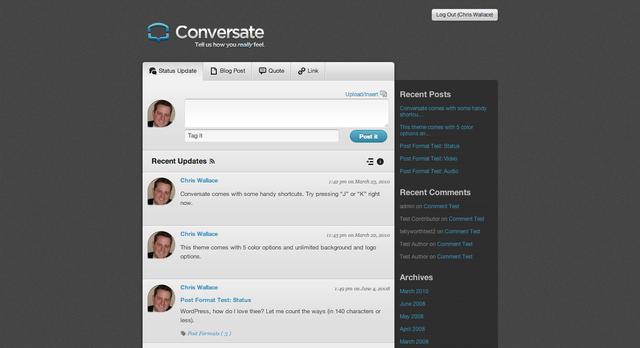 UpThemes – Conversate Theme v1.2.1 For WordPress