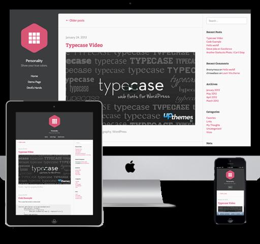 UpThemes – Personality Theme v1.0.1 For WordPress