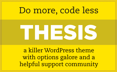 DIYthemes – Thesis beta Theme v2.1 for WordPress