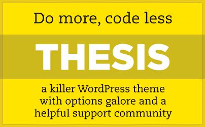 DIYthemes – Thesis beta Theme v2.1 for WordPress