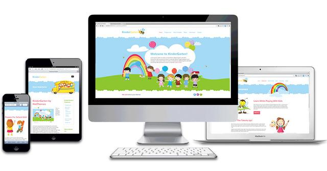 HOT KinderGarten template for Joomla 2.5 & 3.1