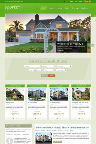 IceTheme – IT Property 2 template for Joomla 2.5 & 3.0