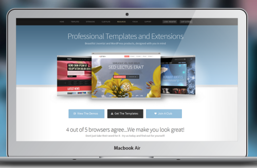 JoomlaXTC Motif template v1.0.1 for Joomla 2.5 – 3.x
