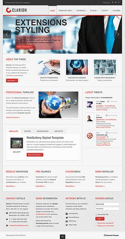 RT Clarion WordPress Theme v1.1
