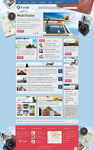 RT Fresco WordPress Theme v1.1