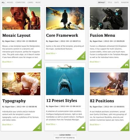 RT Voxel WordPress Template