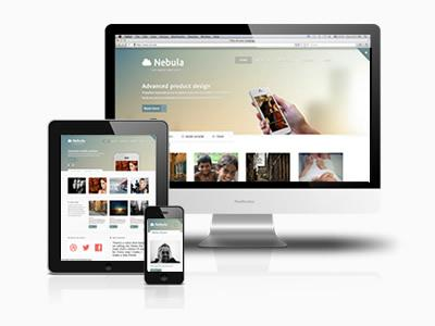 JB Nebula template for Joomla 2.5 & 3.1