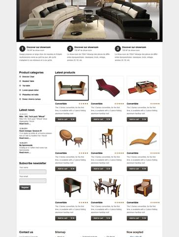Leo Furniture Template for Joomla 2.5