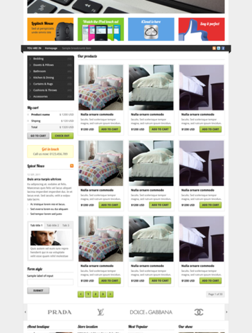 Leotheme Store Template for Joomla 2.5