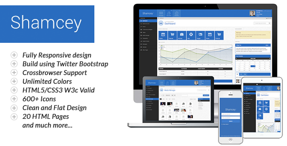 Shamcey Metro Style Admin Template V1.2