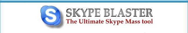 SkypeBlaster – Mass Messenger for the Skype Network