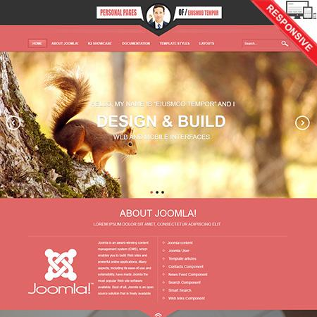 Vtem Personal template for Joomla 2.5 & 3.1