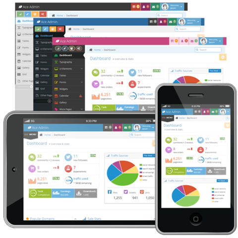 Wrapbootstrap – Ace – Responsive Admin Template