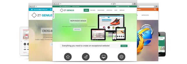 ZT Genius Template for Joomla 2.5