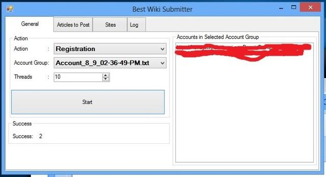 Free Wiki Account Creator -Wiki Submission Bot
