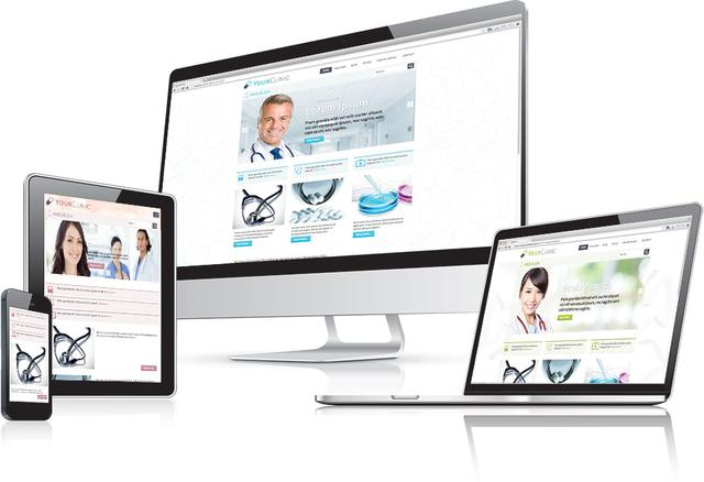 Hot Clinic – Joomla 2.5 & 3.1 Medical Template