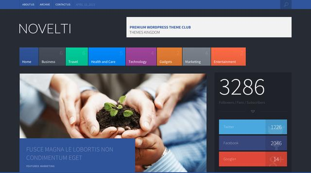 Novelti v1.2 – ThemesKingdom News WordPress Theme