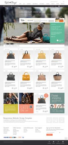 OT Fashionbag – Bag Store Joomla 2.5 Template
