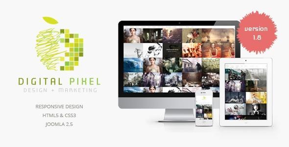Templaza – Digital Pixel v1.8 – Responsive Joomla Template