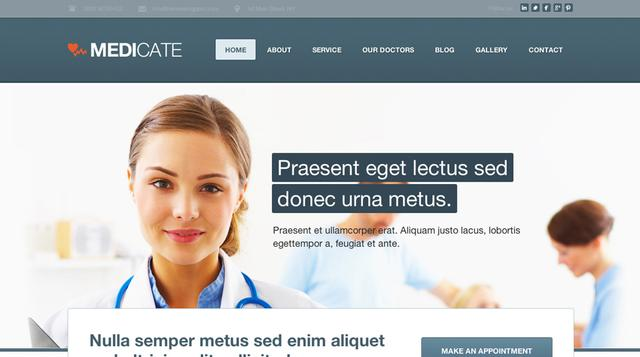 Themeskingdom – Medicate v1.6.1 Landing WordPress Theme