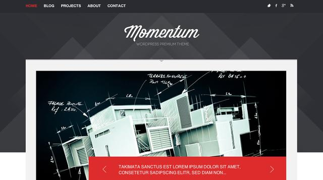 Themeskingdom – Momentum v1.8 Portfolio WordPress Theme