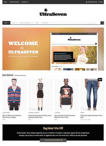 UltraSeven v1.0 – Premium WordPress eCommerce Theme