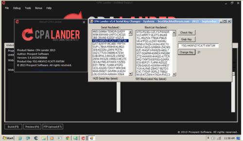 cPA Lander v5.4 Latest Full Version