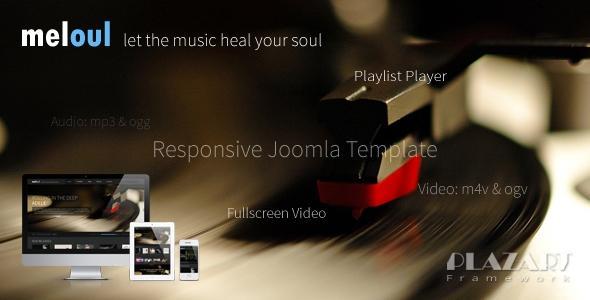 Meloul v1.5 – Music Responsive Joomla Template