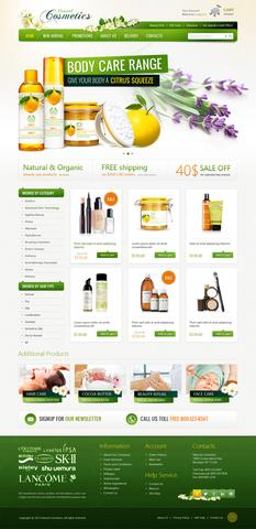 OT Cosmetics – Modern Beauty Shop Responsive Template for Joomla 2.5
