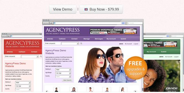 PremiumPress – Agencypress v7.1.4 Community Theme for WordPress