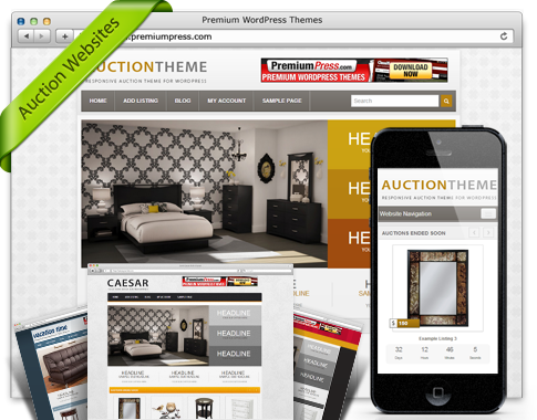 PremiumPress – AuctionPress Theme v7.1.4 for WordPress