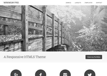 StudioPress – Minimum Theme v3.0.0