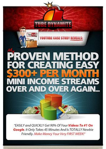 Tube Dynamite Each Video Makes $300+ Per Month