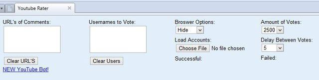 YouTube Comment Rater / Voter Bot FREE! Tested and Working