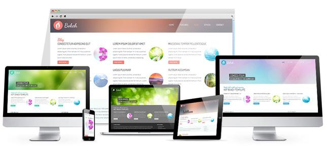 Hot Bokeh Template for Joomla 2.5 & 3.1