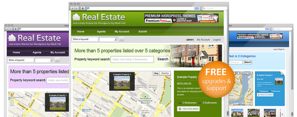 PremiumPress RealtorPress v7.1.4 (Activate Key Included) Real Estate WordPress Theme