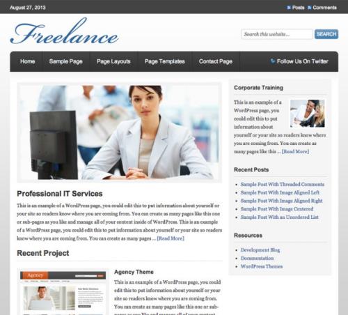 StudioPress – Freelance v1.0.1 WordPress Theme