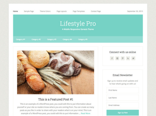 StudioPress – Lifestyle Pro v3 WordPress Theme