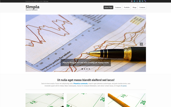 Wrapbootstrap – Simpla – Responsive Bootstrap Theme